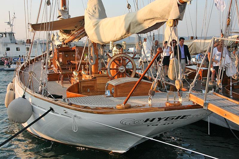 Klassische segelyachten  Classic Yacht Hygie chartern