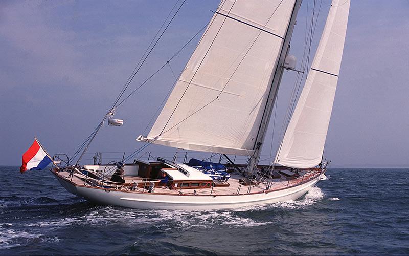 Segelyacht modern  Modern Classic Yacht Lady Ann