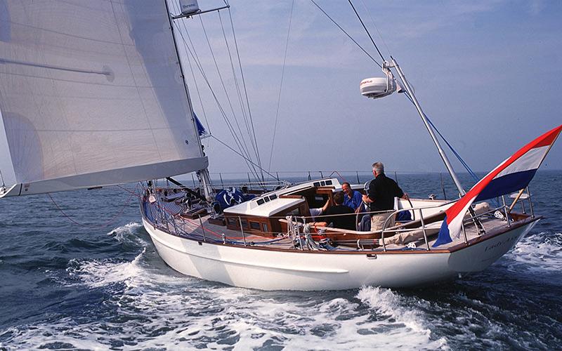 Klassische segelyachten  Modern Classic Yacht Lady Ann